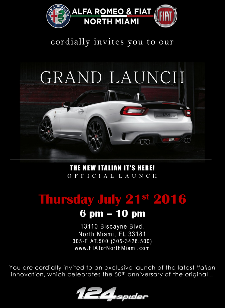Launch VIP Invitation