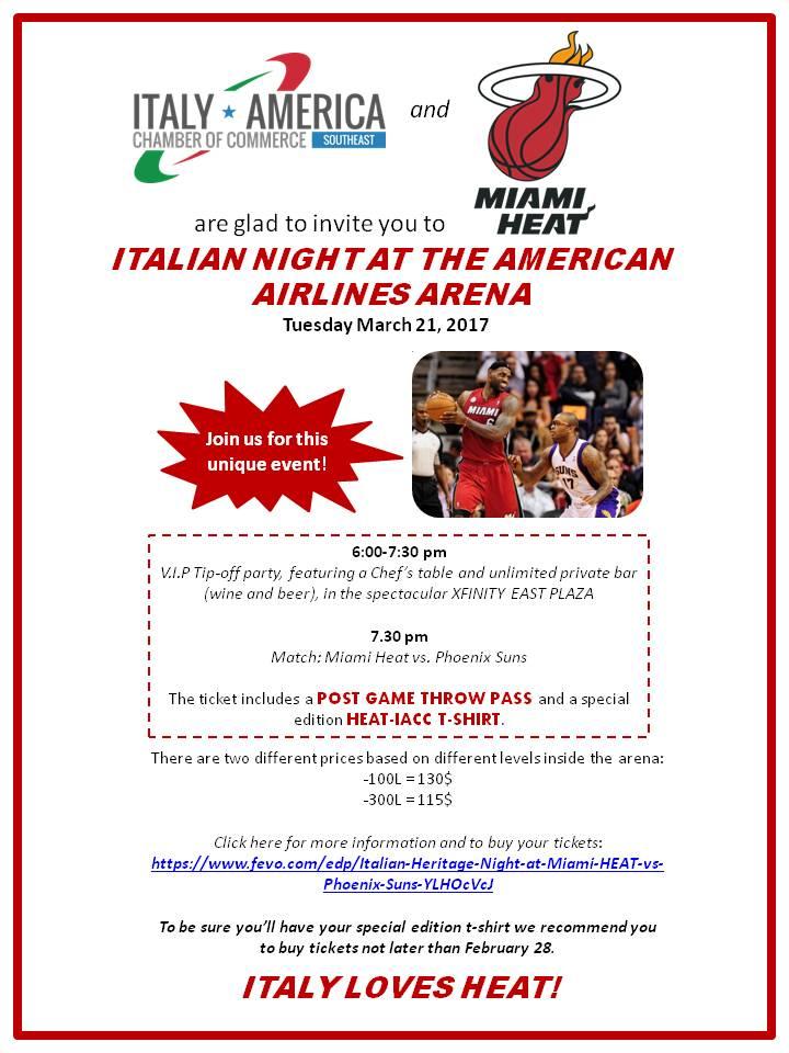 Invito Miami Heat
