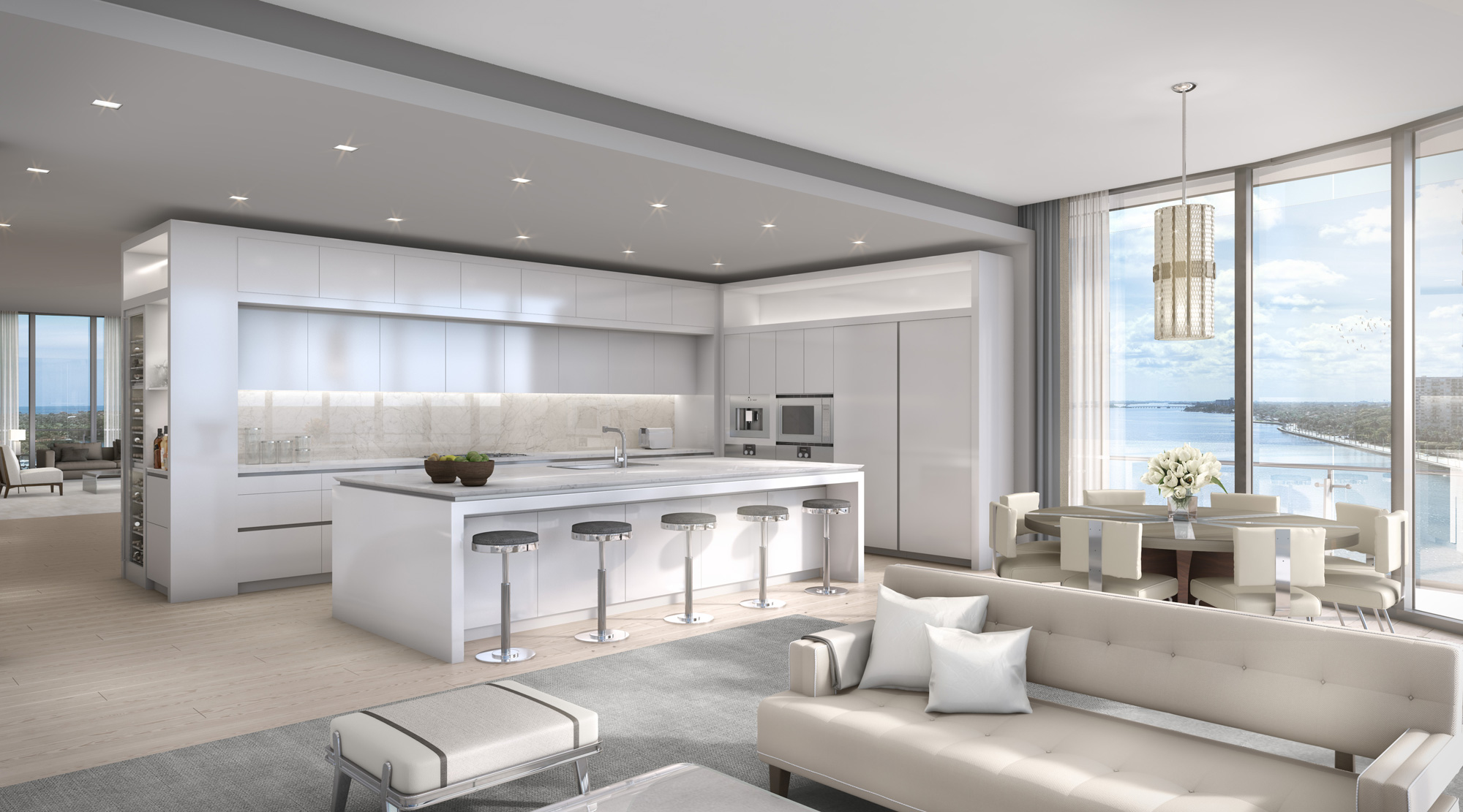 Bristol - West Plam Beach 2 (kitchen) & Snaidero USA selected as kitchen cabinets supplier for the Bristol ...