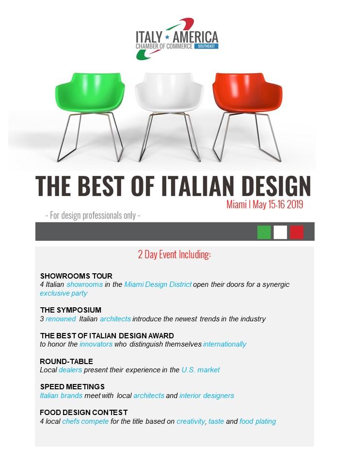 The Best of Italian Design - flyer.rev