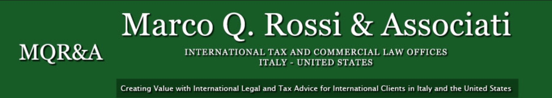 Marco Q. Rossi & Associati, PLLC